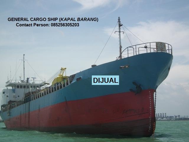 Jual Kapal Barang / Jual Kapal Cargo