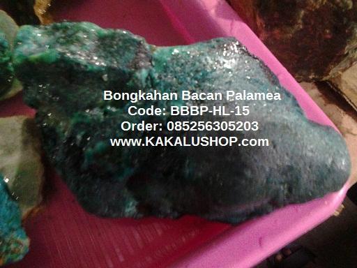 Jual Bongkahan Batu Bacan Palamea 1.3 Kg