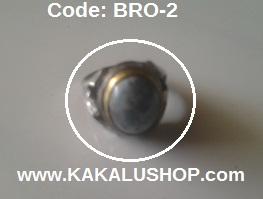 Batu Obi Warna Leci Bentuk Bulat, Batu Ruby Asli Alam Pulau Obi Maluku Utara
