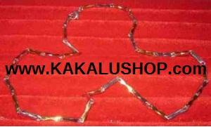 Kalung Besi Putih Model Rantai Asli Morotai